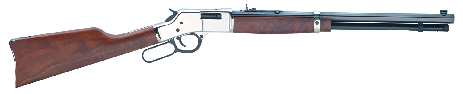Henry H006MS Big Boy Silver Lever 357 Magnum/38 Special 20