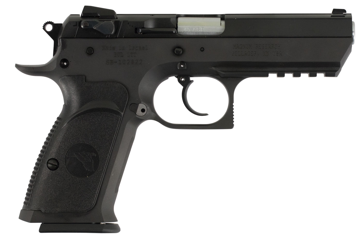Magnum Research BE45003RS Baby Desert Eagle Single/Double 45 Automatic Colt Pistol (ACP) 3.8