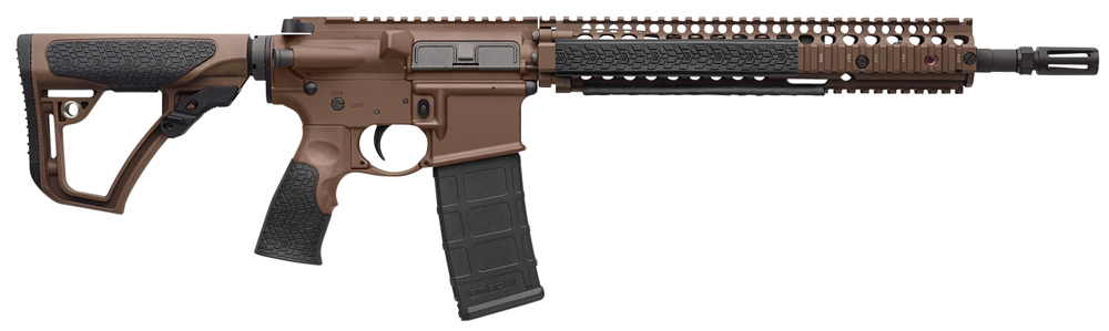 Daniel Defense 15126011 DDM4 M4A1 Semi-Automatic 223 Remington/5.56 NATO 14.5