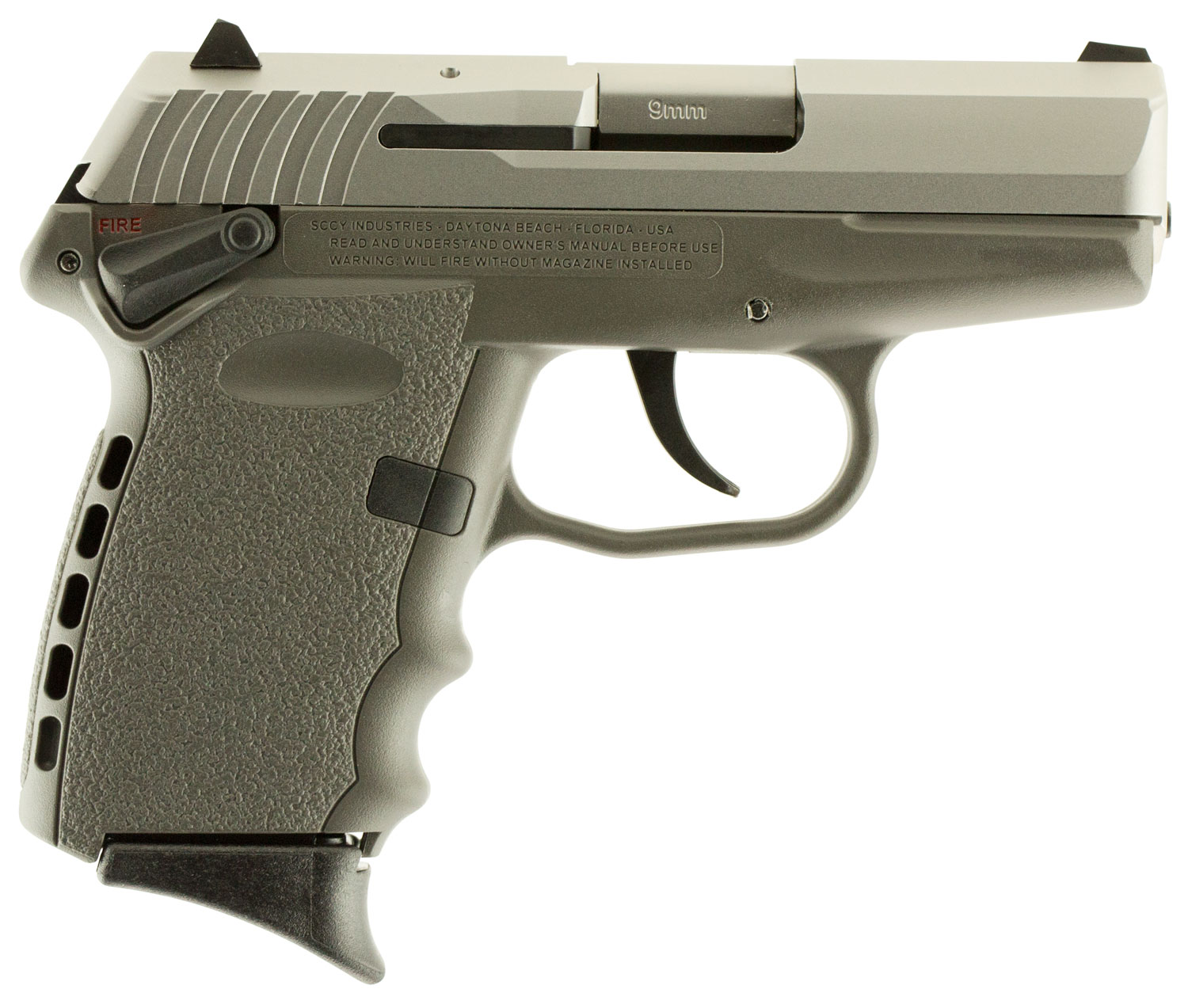 SCCY Industries CPX1TTSG CPX-1 Double 9mm 3.1