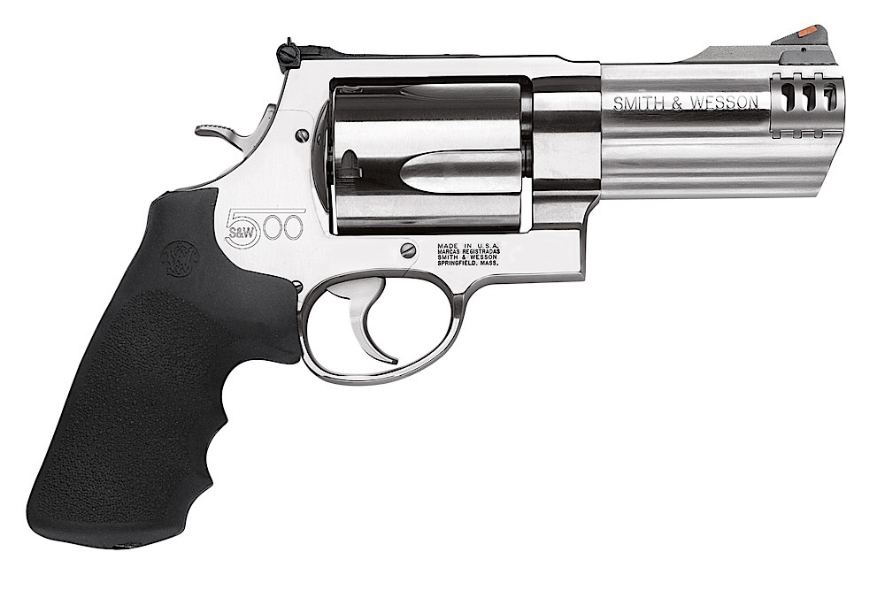 Smith & Wesson 163504 500 Standard Single/Double 500 Smith & Wesson (S&W) 4