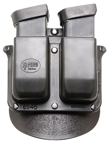 Fobus 6945RP Roto DBL MAG Pouch 6945RP Standard Black Plastic