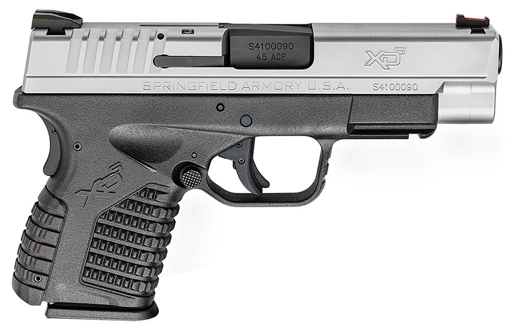 Springfield Armory XD-S Single Stack Double 45 Automatic Colt Pistol (ACP) 4
