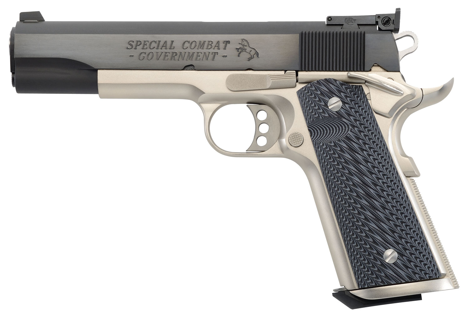 Colt Mfg O2580CM 1911 Special Combat Government Single 38 Super 5