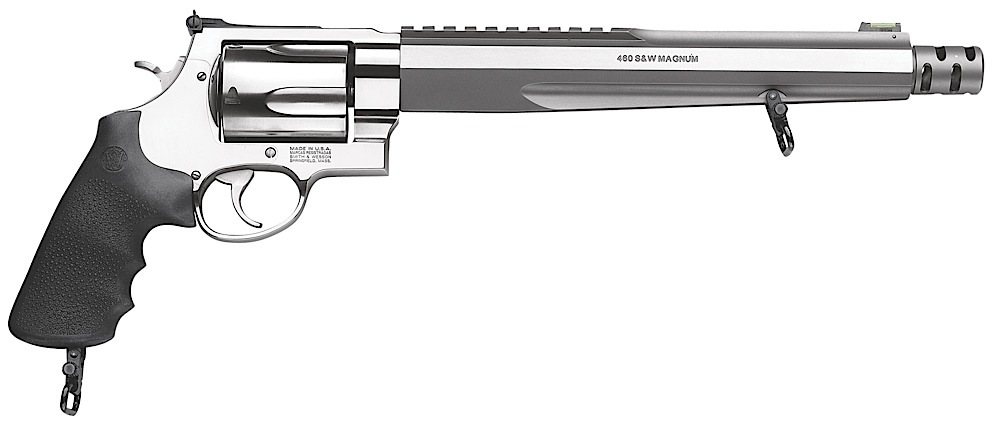 Smith & Wesson 170262 460 Performance Center XVR with Rail Single/Double 460 Smith & Wesson Magnum 10.5