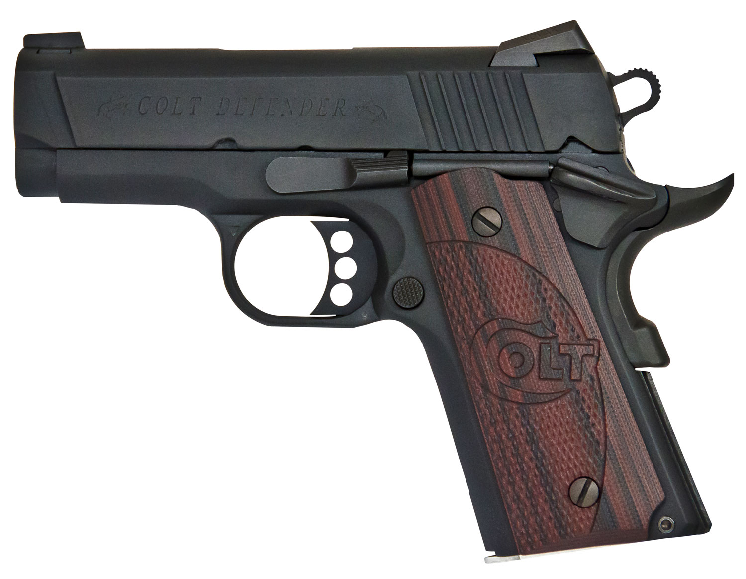Colt Mfg O7802XE 1911 Defender Single 9mm Luger 3