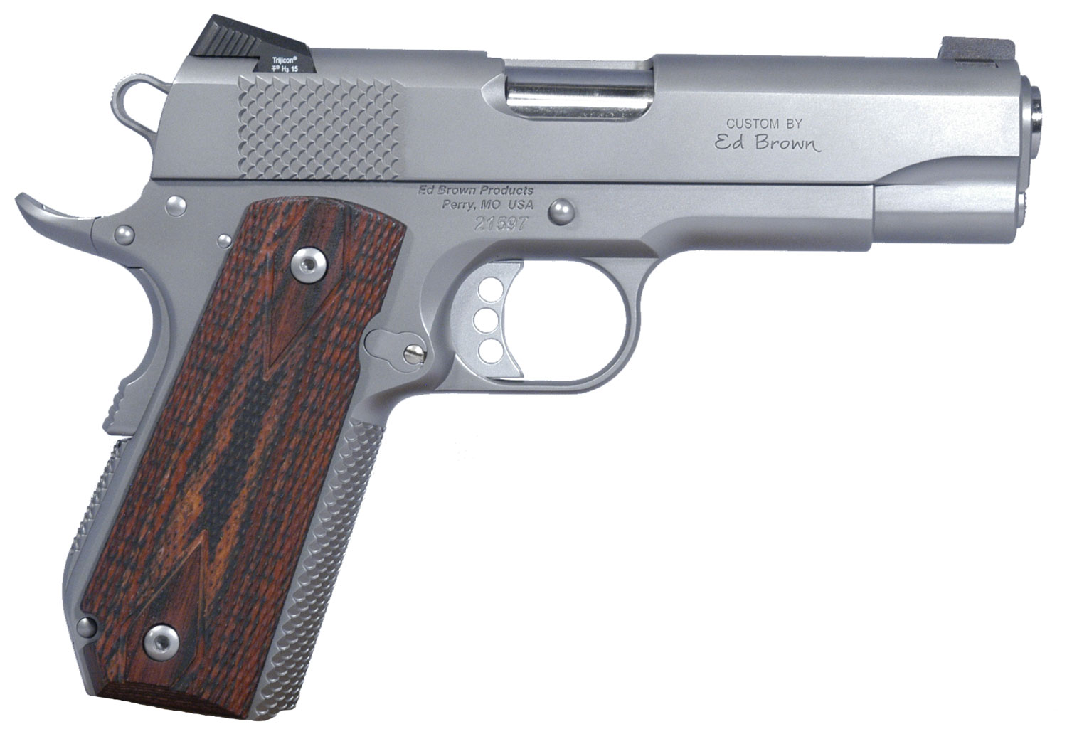 Ed Brown KCSS Kobra Carry Single 45 Automatic Colt Pistol (ACP) 4.25