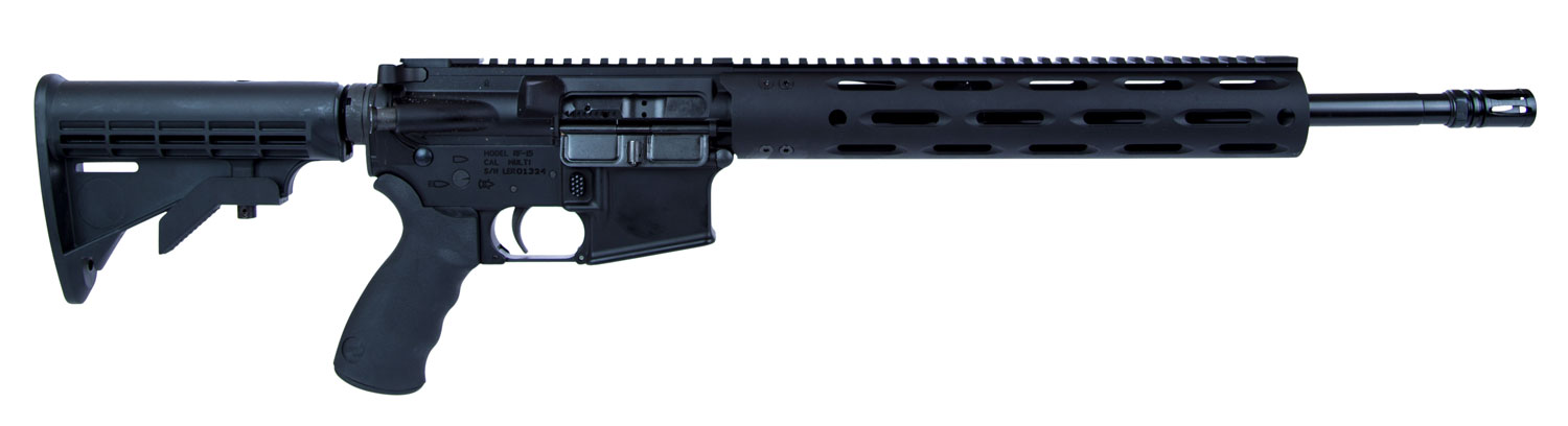 Radical Firearms FR16300HBAR1 AR-15 FGS Semi-Automatic 300 AAC Blackout/Whisper (7.62x35mm) 16
