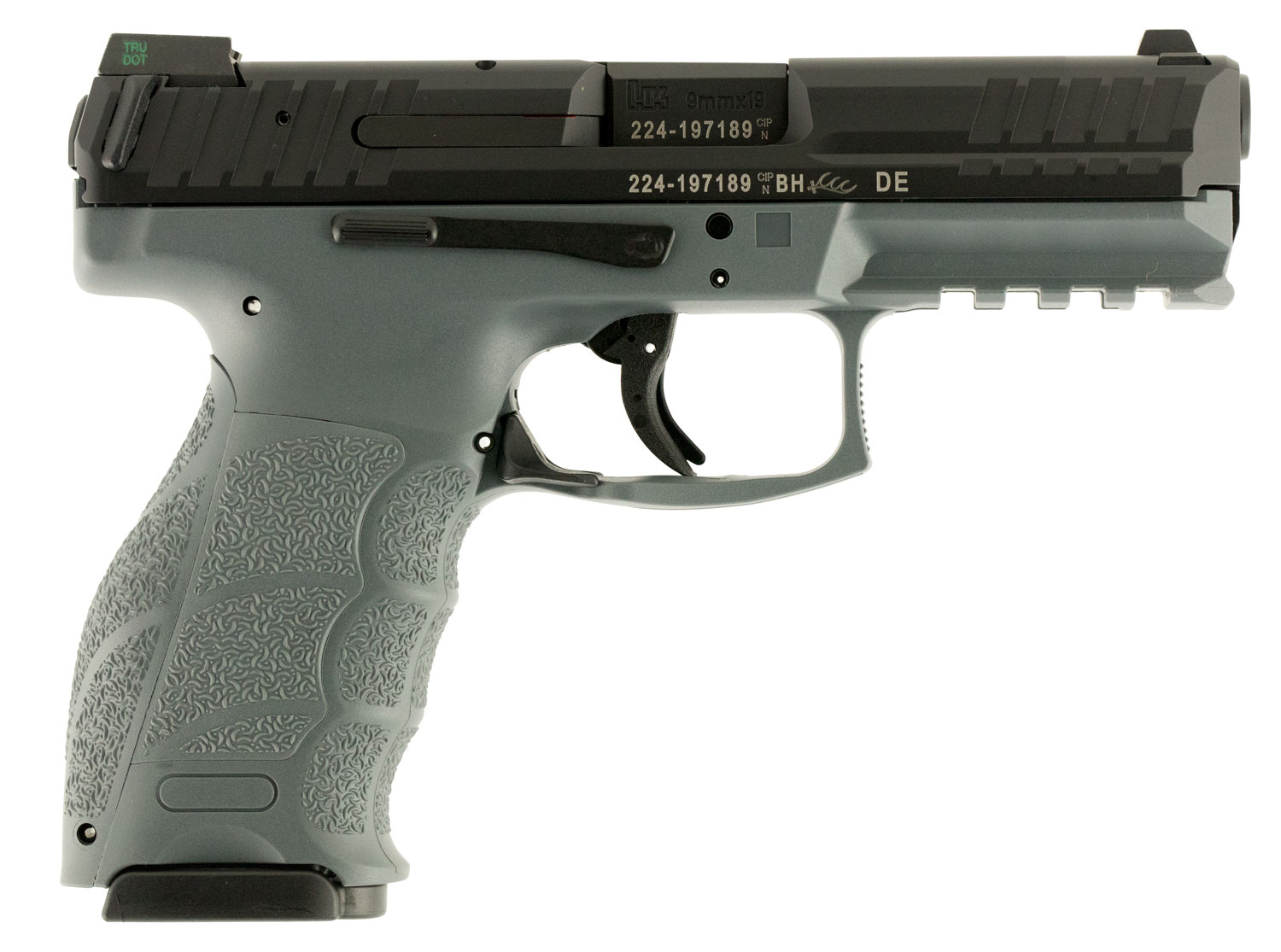 HK 700009GYLEA5 VP9 Double 9mm Luger 4.09