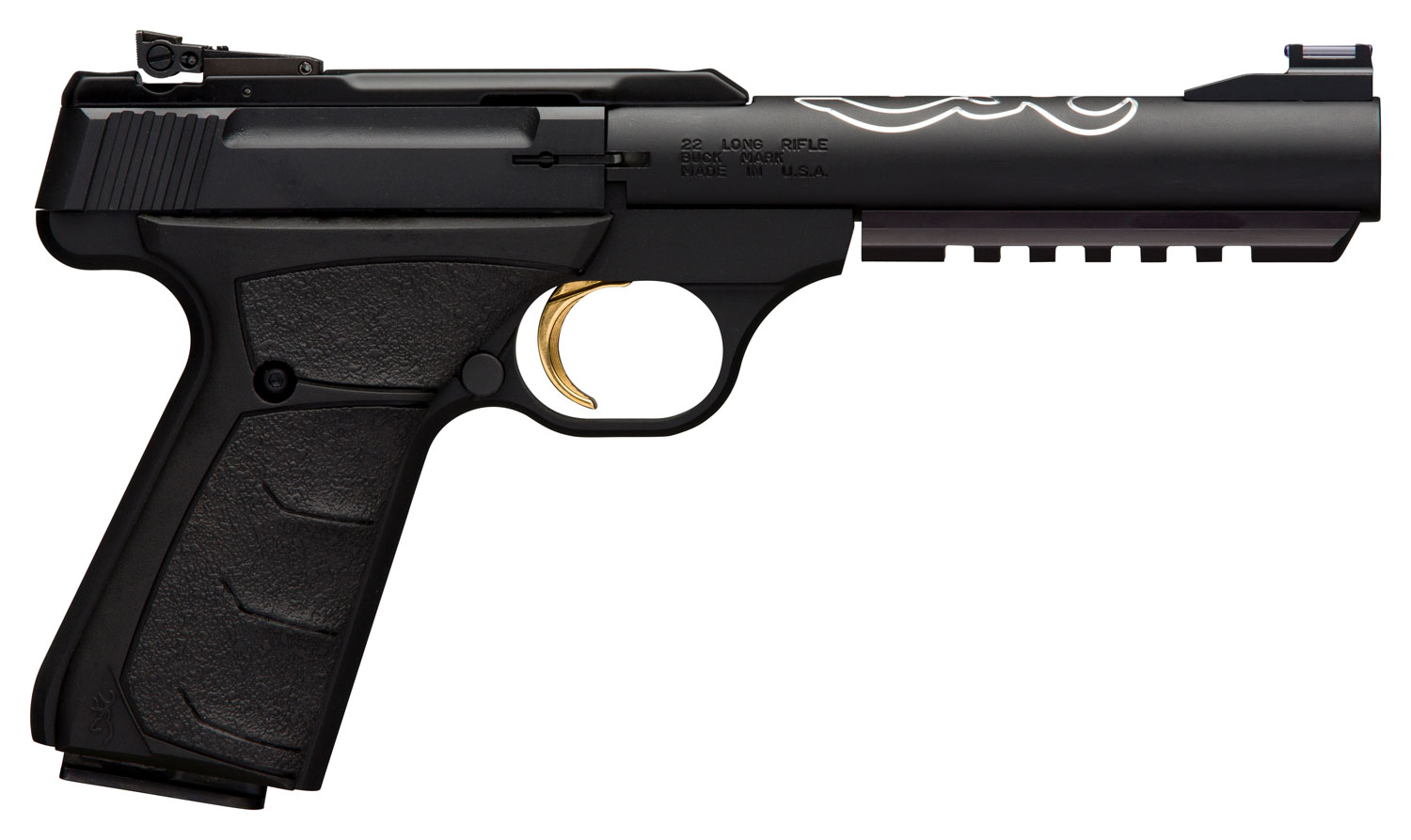 Browning 051525490 Buck Mark Lite UFX Single 22 LR 5.5