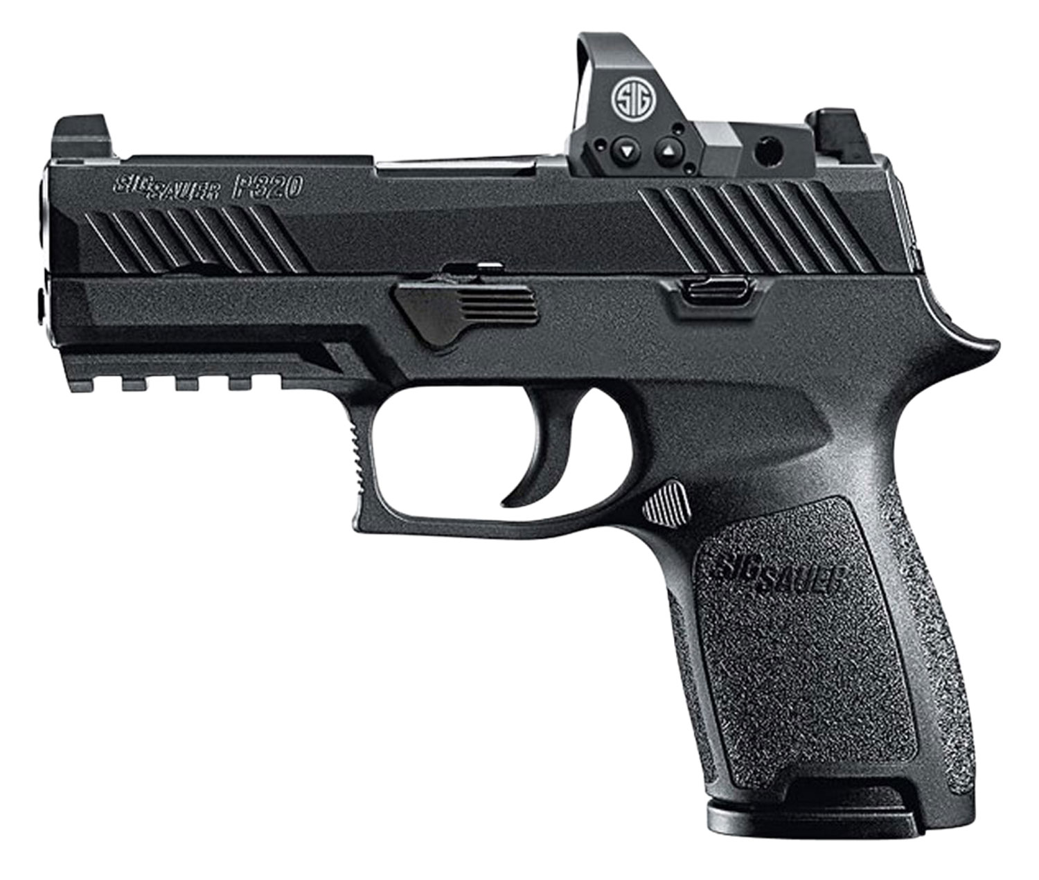 Sig Sauer 320C9BSSRX P320 Compact RX Double 9mm Luger 3.9