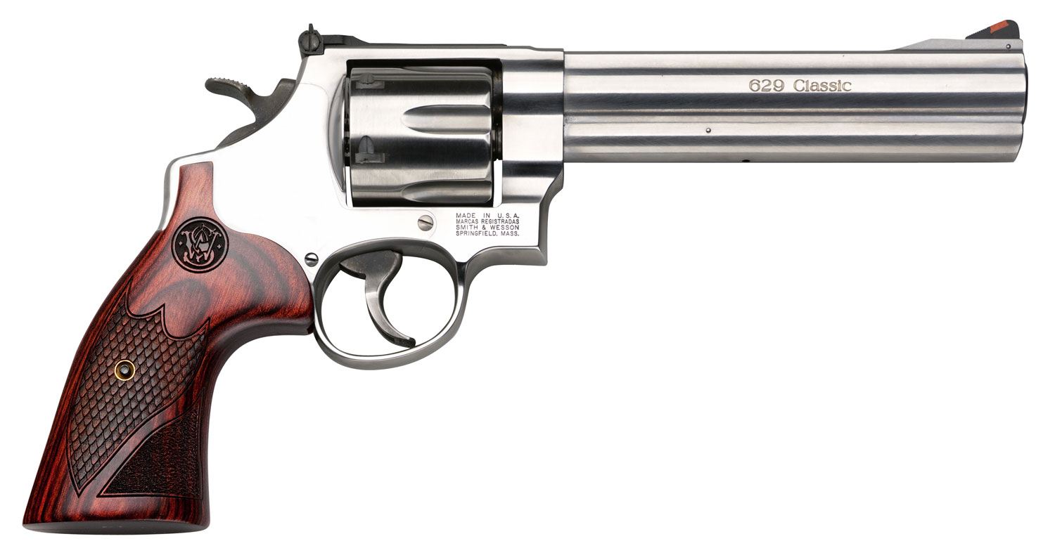 Smith & Wesson 150714 629 Deluxe Single/Double 44 Remington Magnum 6.5