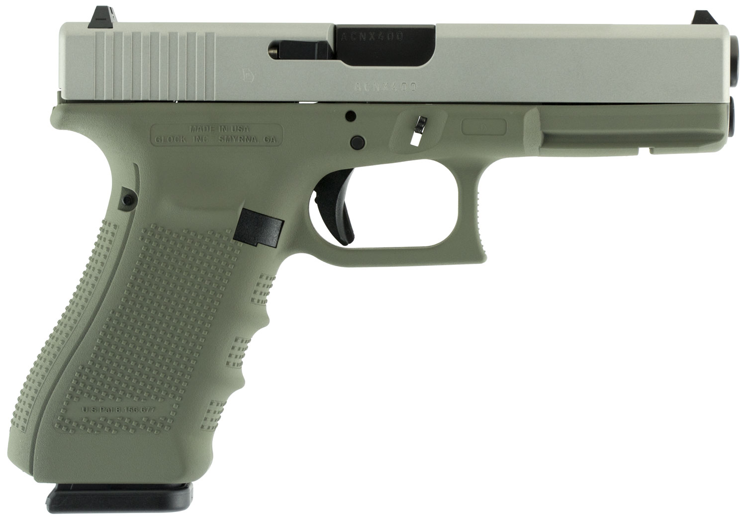 Glock UG1750204 G17 Gen 4 Double 9mm Luger 4.48