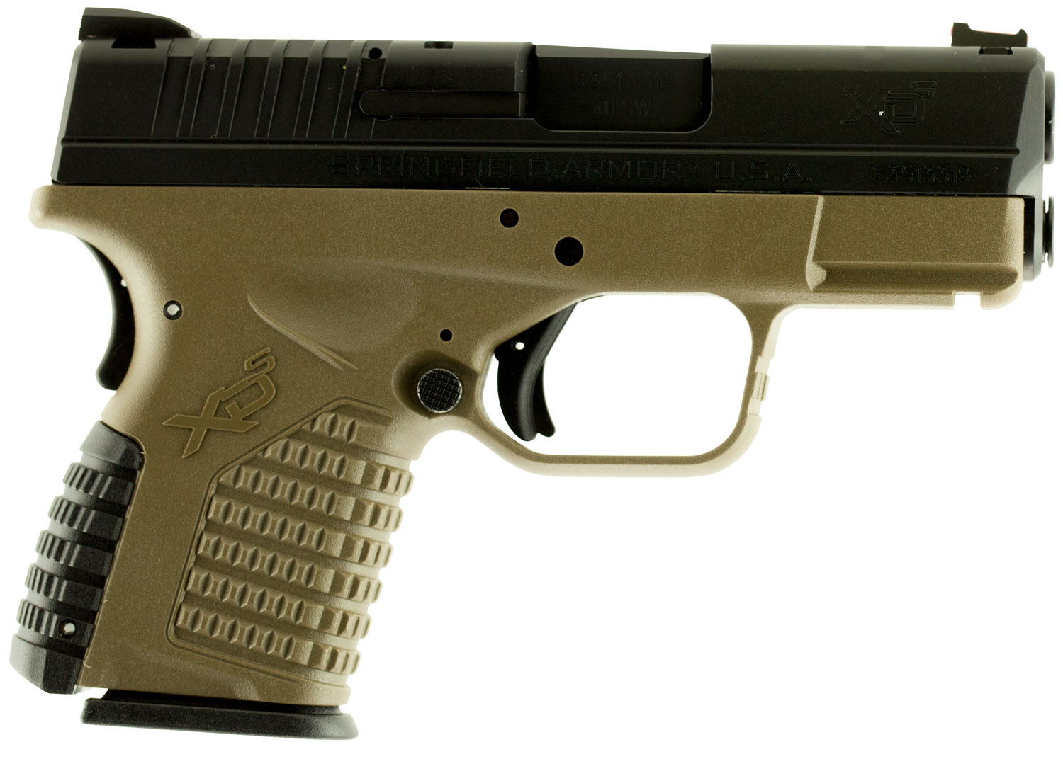 Springfield Armory XDS93340DEE XD-S Double 40 Smith & Wesson (S&W) 3.3
