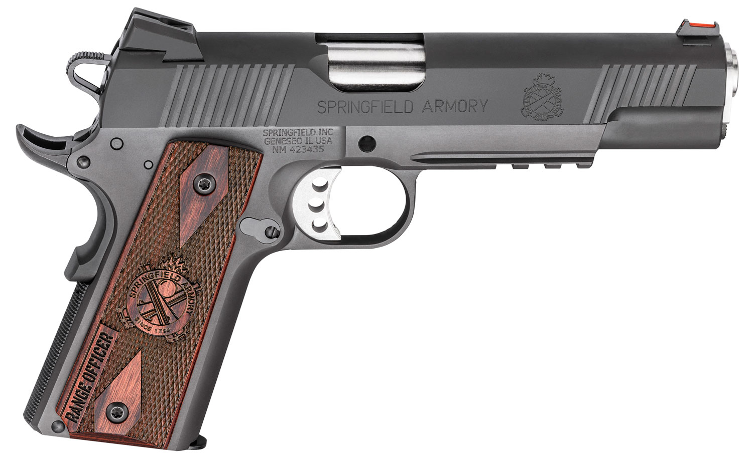 Springfield Armory PI9130L 1911 Range Officer Operator Single 9mm Luger 5