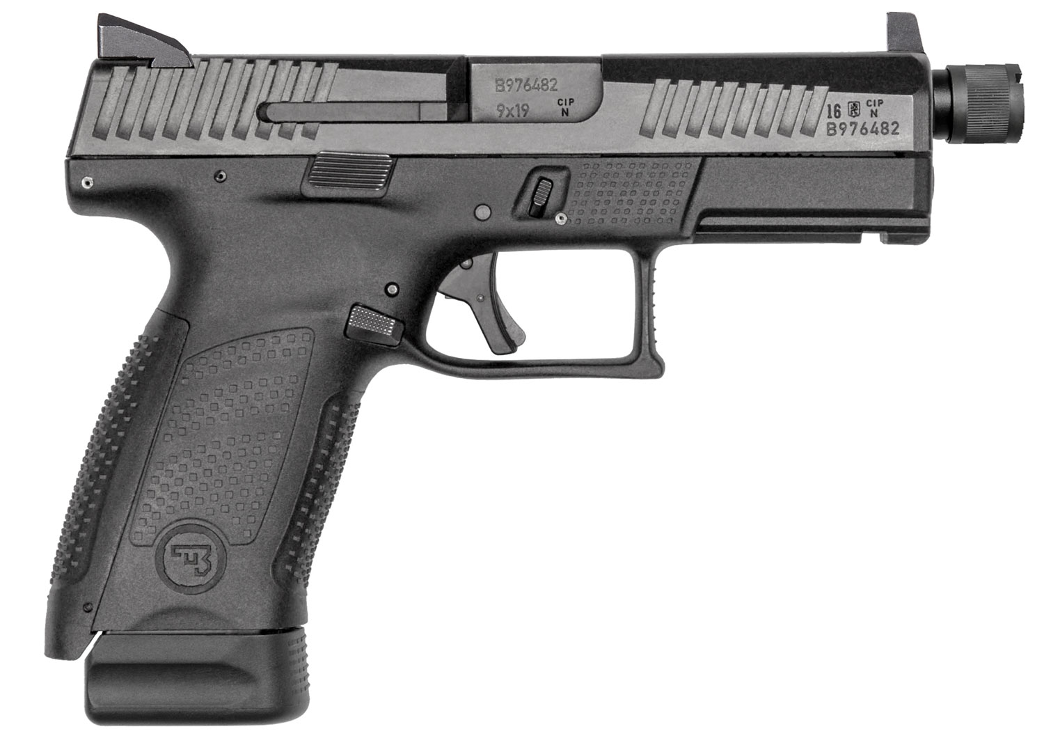 CZ 91523 P-10 C Suppressor-Ready Double 9mm Luger 4.61