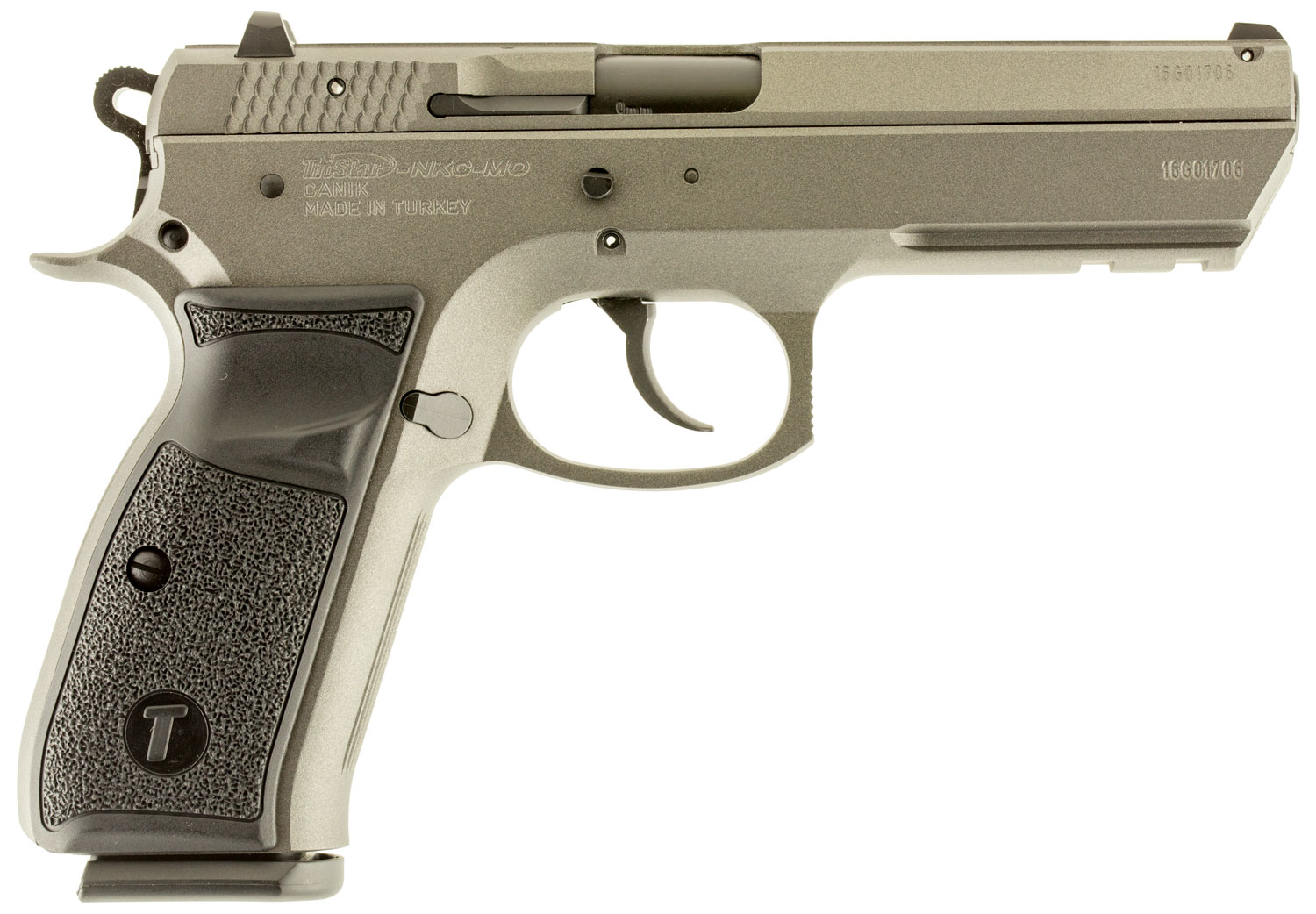 TriStar 85092 T-120 Aluminum Single/Double 9mm Luger 4.7