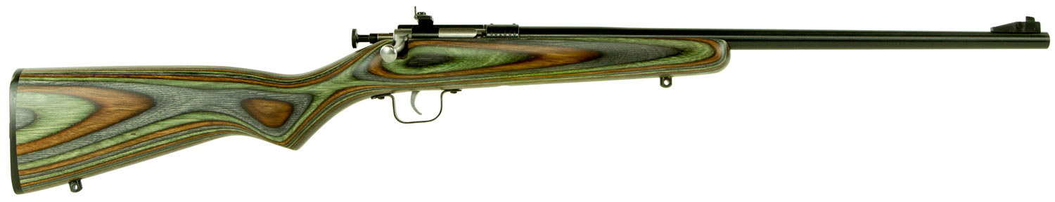 Crickett KSA2252 Single Shot Bolt 22 Long Rifle (LR) 16.12