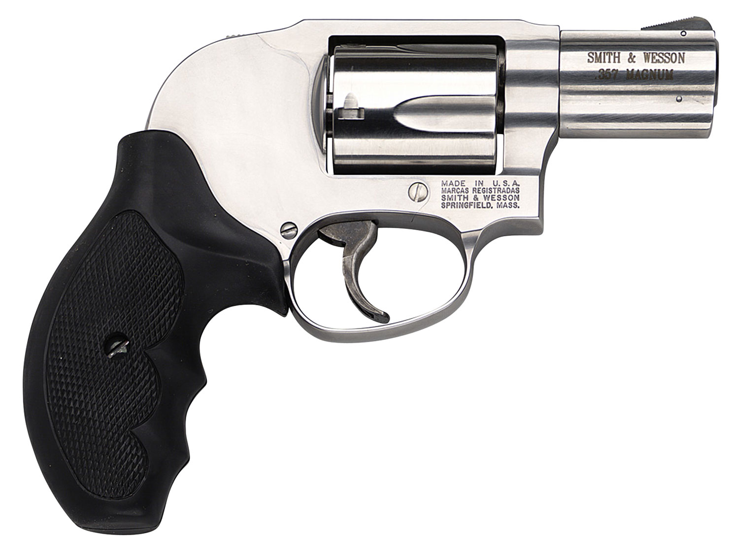 Smith & Wesson 163210 649 Shrouded Hammer Single/Double 357 Magnum 2.125