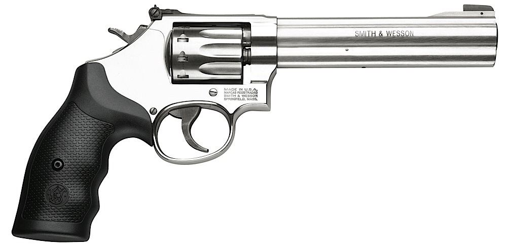 Smith & Wesson 160578 617 K-Frame Single/Double 22 Long Rifle (LR) 6