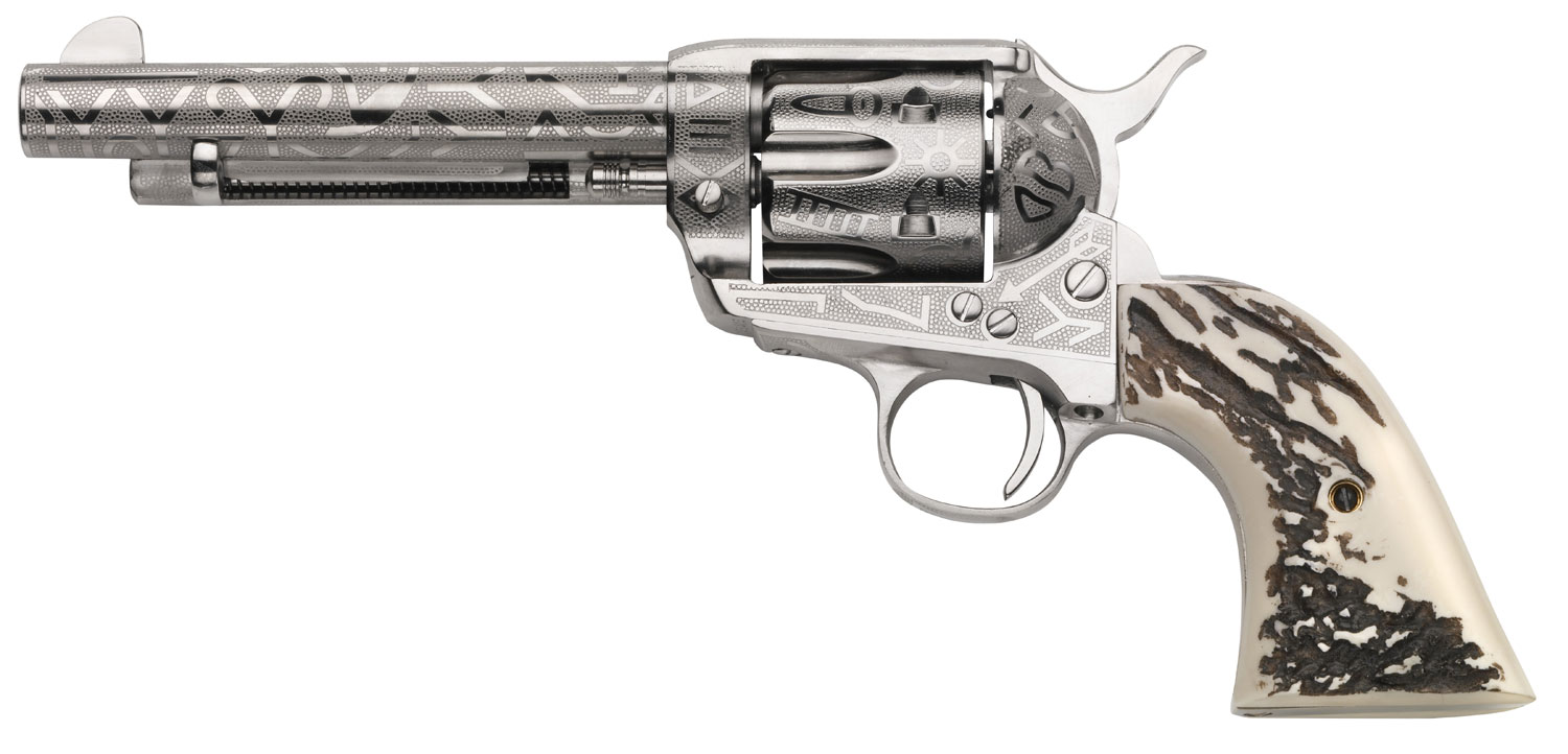 Taylors and Company OG1407 1873 Cattleman Single 357 Magnum 5.5