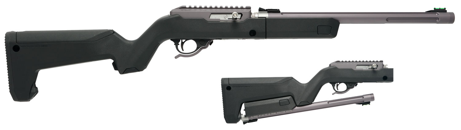 Tactical Solutions TDGMGBBBLK X-Ring Takedown Semi-Automatic 22 Long Rifle (LR) 16.5