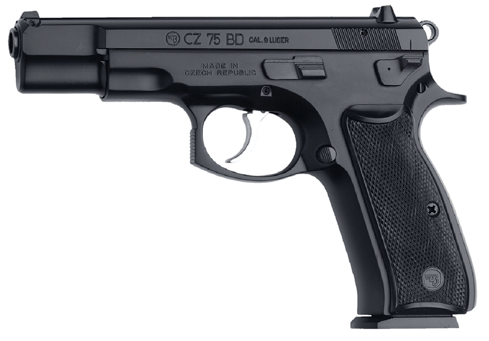 CZ 01130 CZ 75 75 BD Single/Double 9mm Luger 4.6