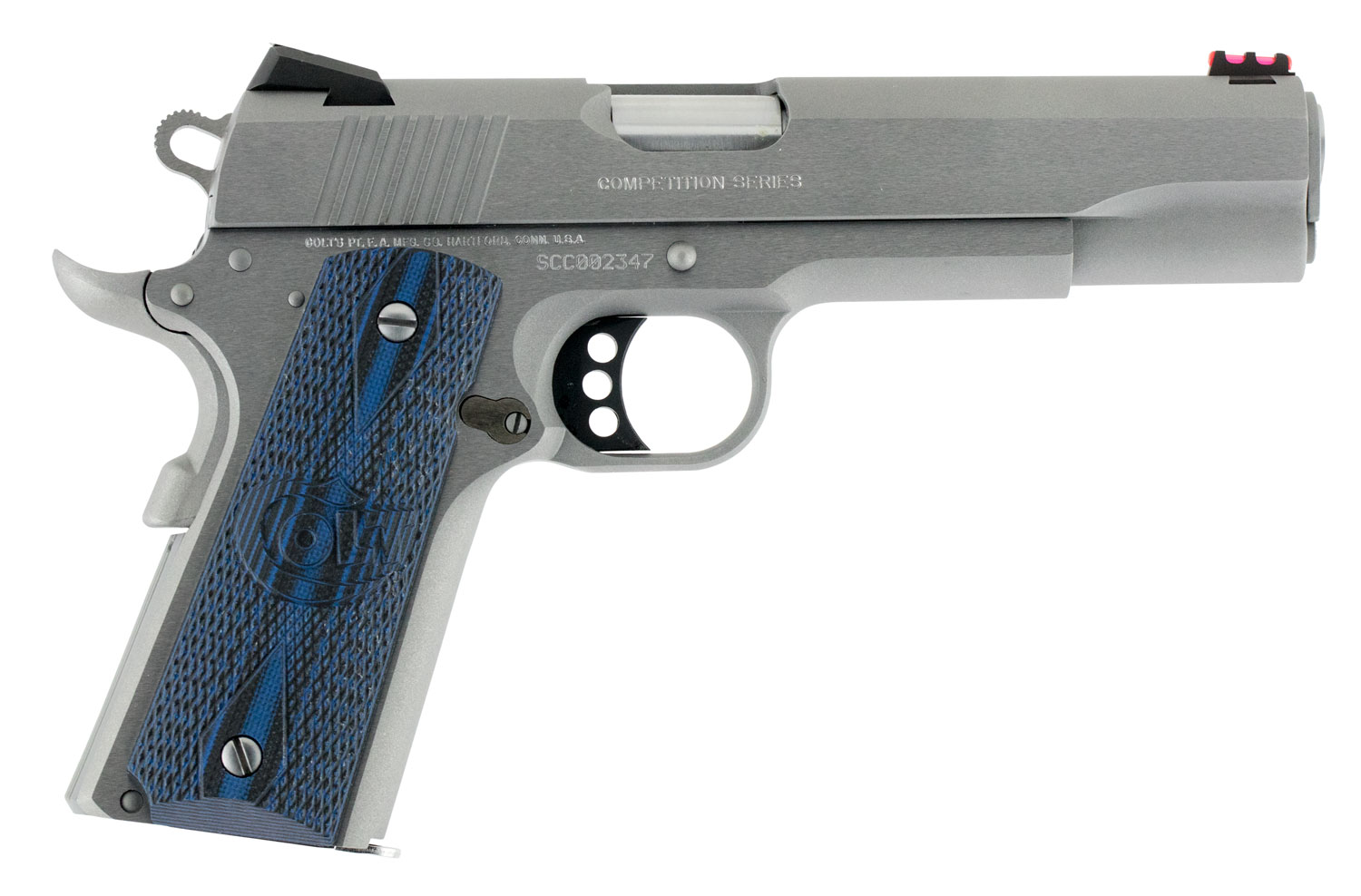 Colt Mfg O1070CCS 1911 Competition 70 Series Single 45 Automatic Colt Pistol (ACP) 5