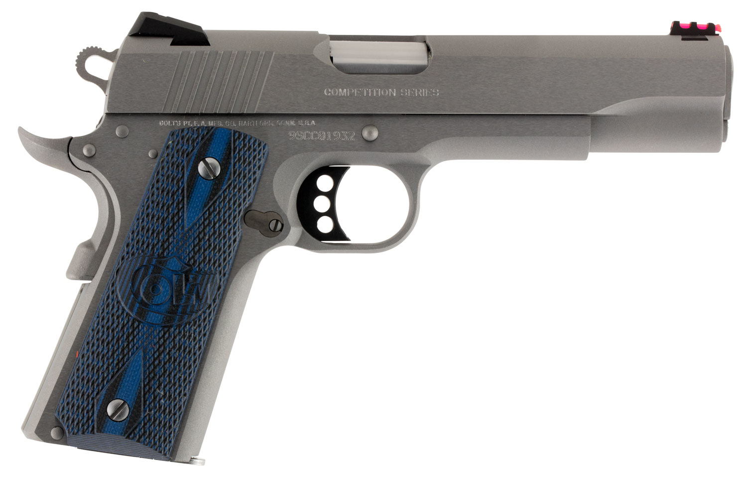 Colt Mfg O1072CCS 1911 Competition 70 Series Single 9mm Luger 5