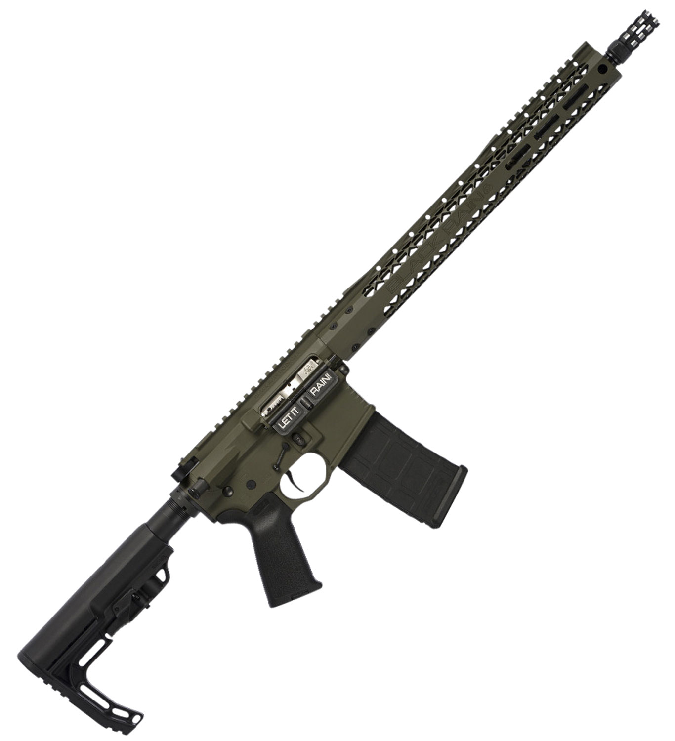 Black Rain BROSCOUTOD Recon BRO Scout Semi-Automatic 223 Remington/5.56 NATO 16
