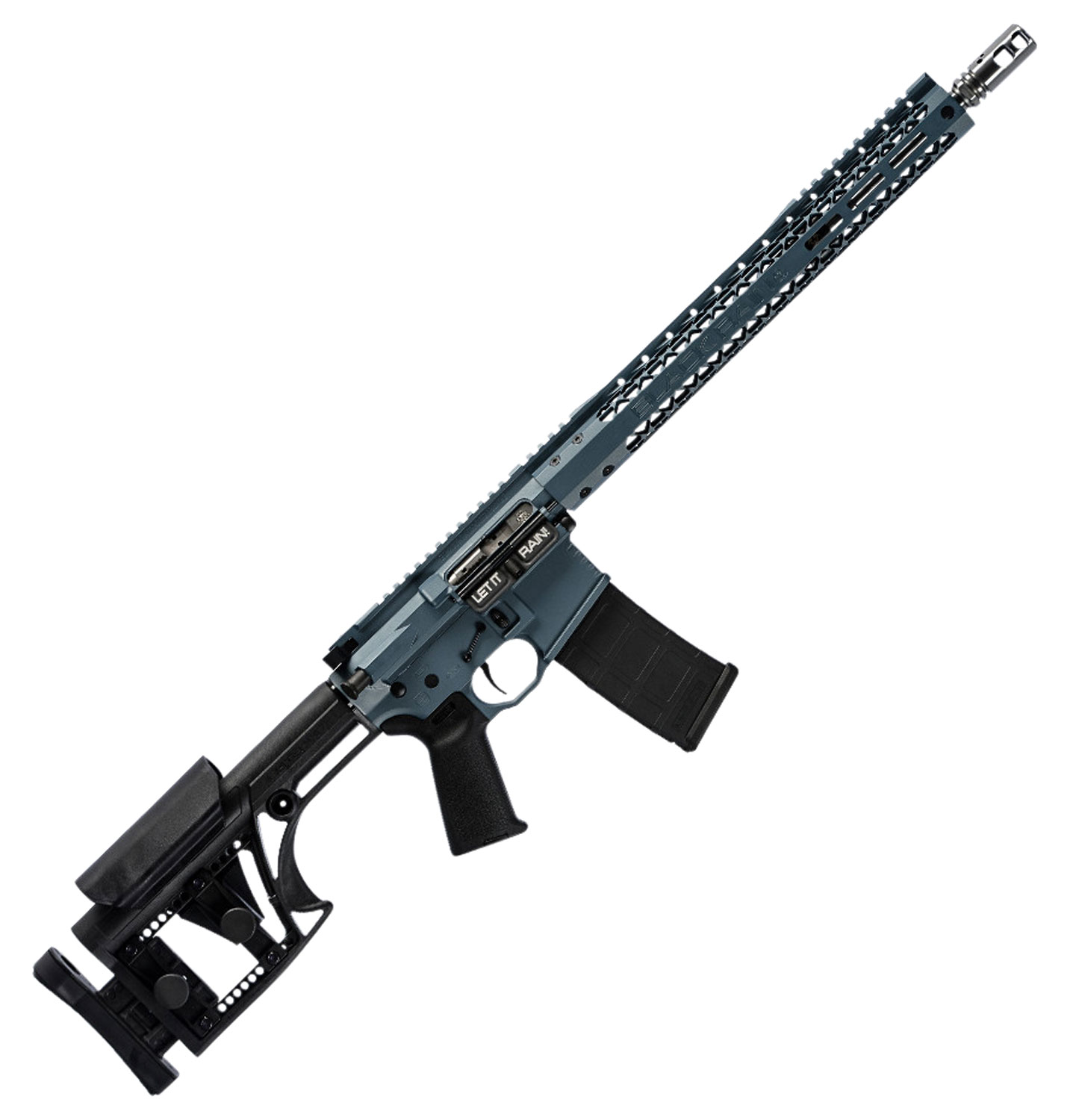 Black Rain BROCOMP3GBLU BRO Competition G3 Semi-Automatic 223 Remington/5.56 NATO 16