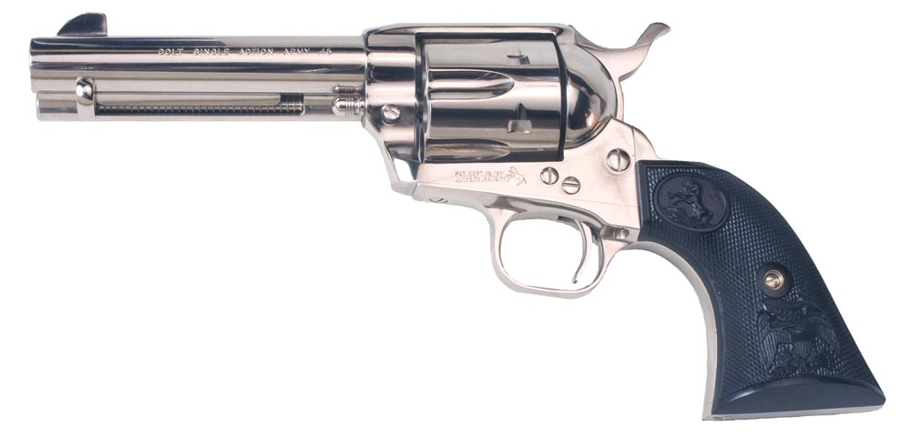 Colt Mfg P1641 Single Action Army Peacemaker Single 357 Magnum 4.75