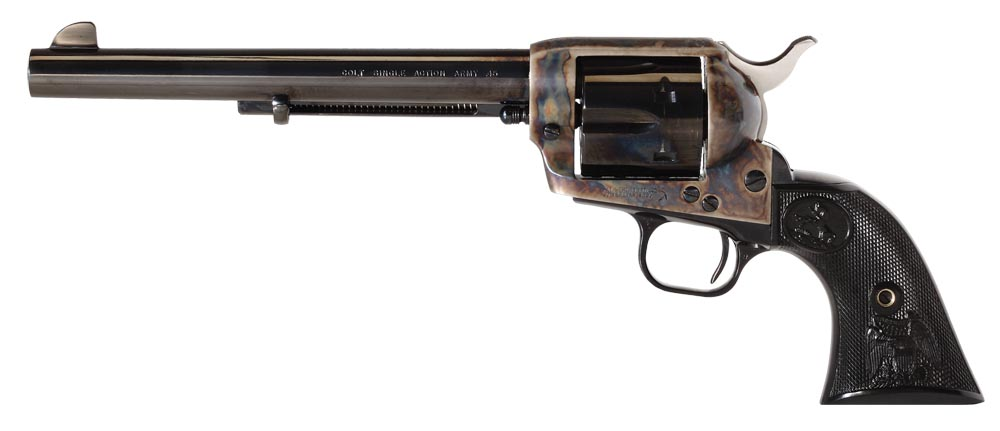 Colt Mfg P1870 Single Action Army Peacemaker Single 45 Colt (LC) 7.5
