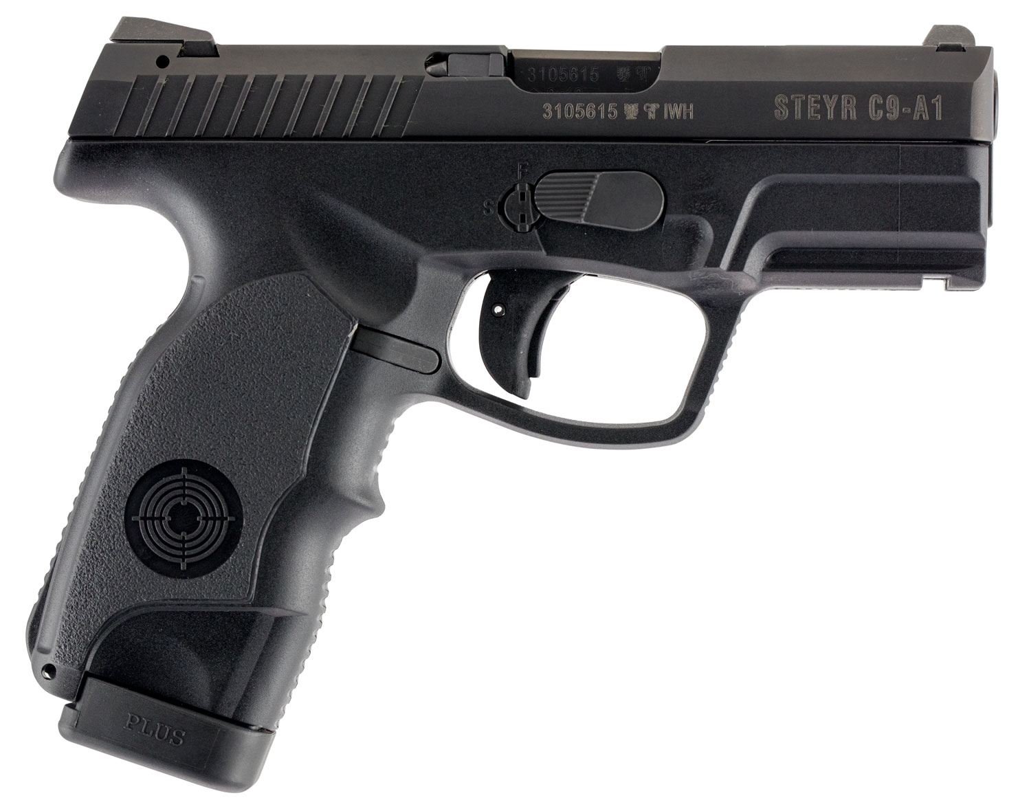 Steyr 39.921.2K C9-A1 Double 9mm 3.6