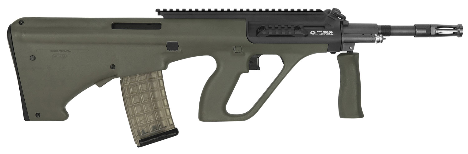 Steyr AUGM1GRNH2 AUG A3 M1 Semi-Automatic 223 Remington/5.56 NATO 16