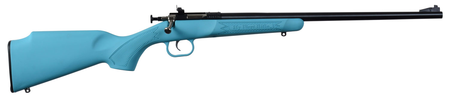 Crickett KSA2302 Single Shot Synthetic Bolt 22 Long Rifle (LR) 16.125