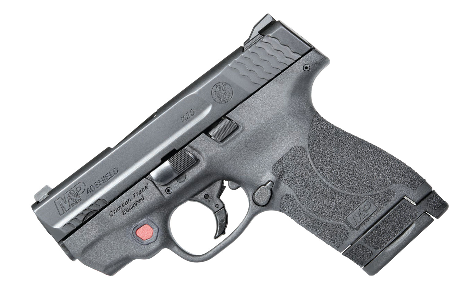 Smith & Wesson 11674 M&P 40 Shield M2.0 with Crimson Trace Red Laser Double 40 Smith & Wesson (S&W) 3.1