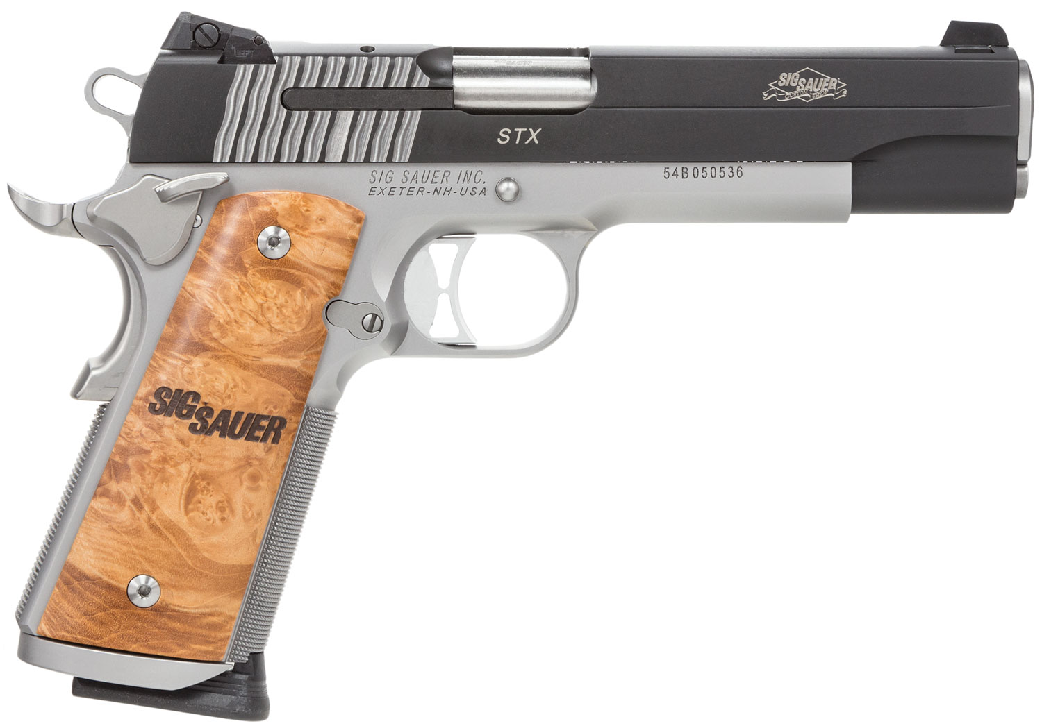 Sig Sauer 191145STX 1911 Full Size STX Single 45 Automatic Colt Pistol (ACP) 5