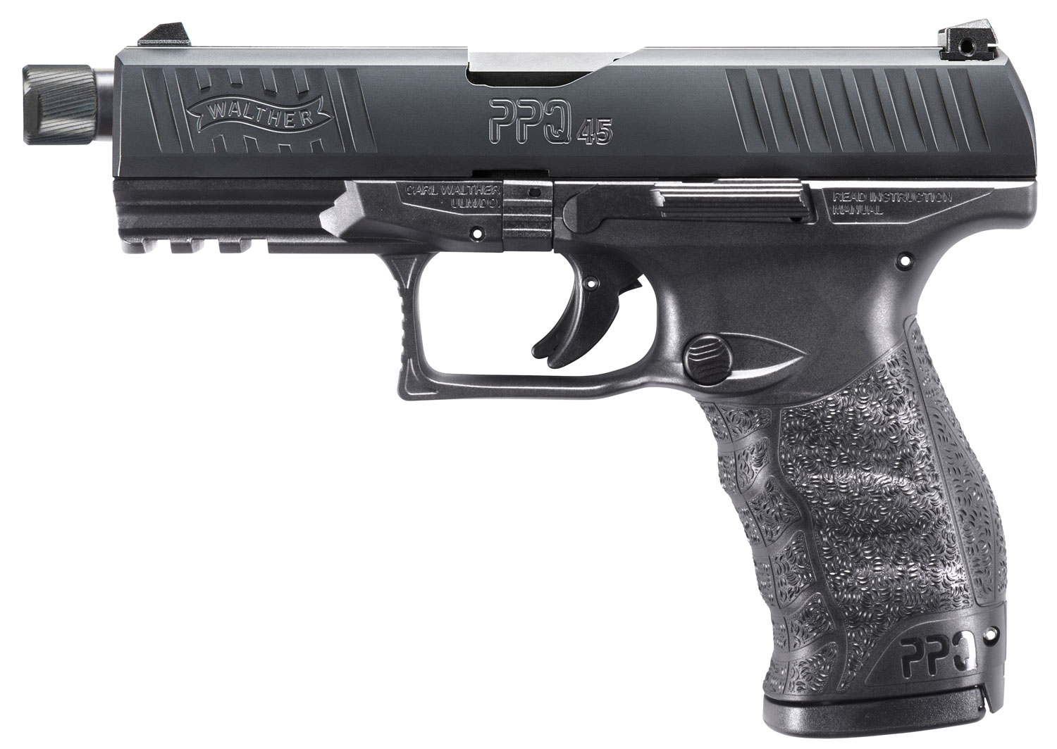 Walther Arms 2829231 PPQ M2 SD Double 45 Automatic Colt Pistol (ACP) 4.9