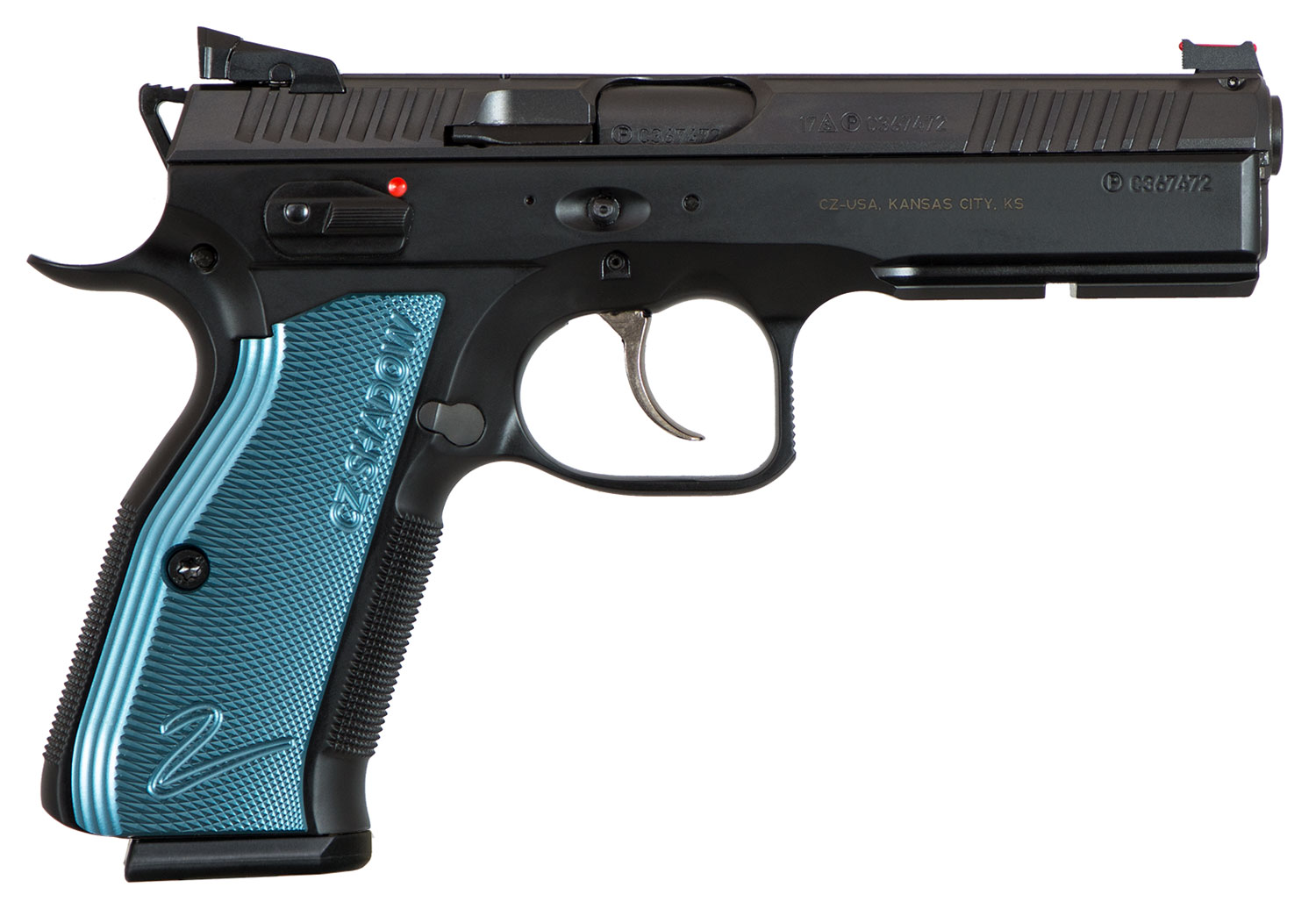 CZ 91257 SP-01 Shadow 2 Single/Double 9mm Luger 4.8