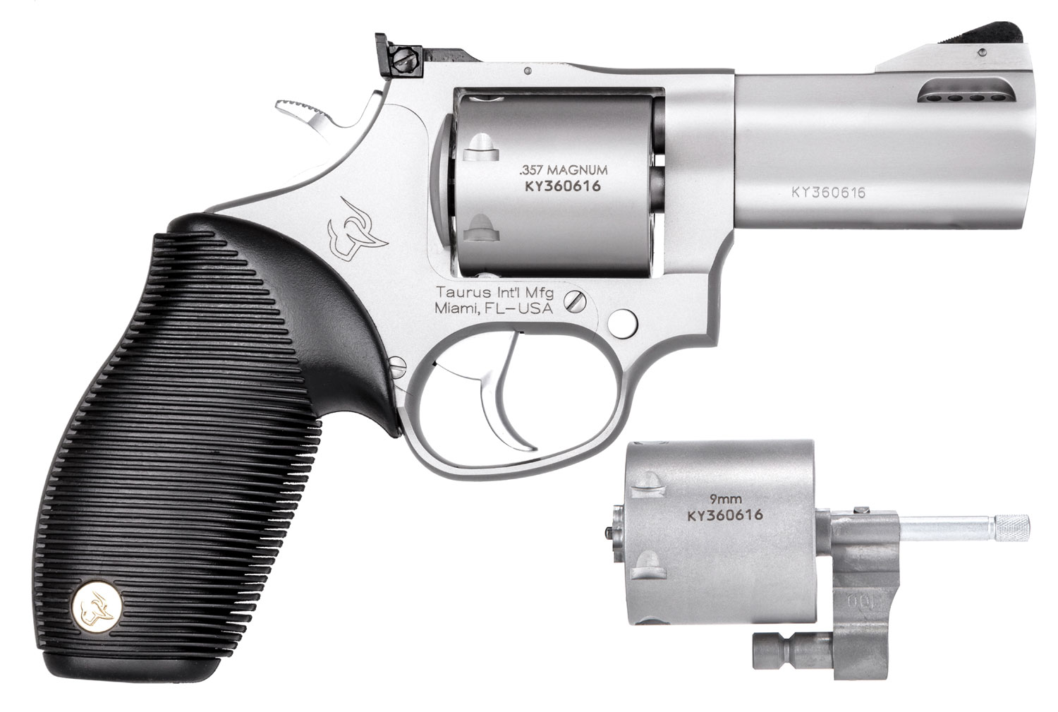 Taurus 2692039 692 Standard Single/Double 38 Special/357 Magnum/9mm 3