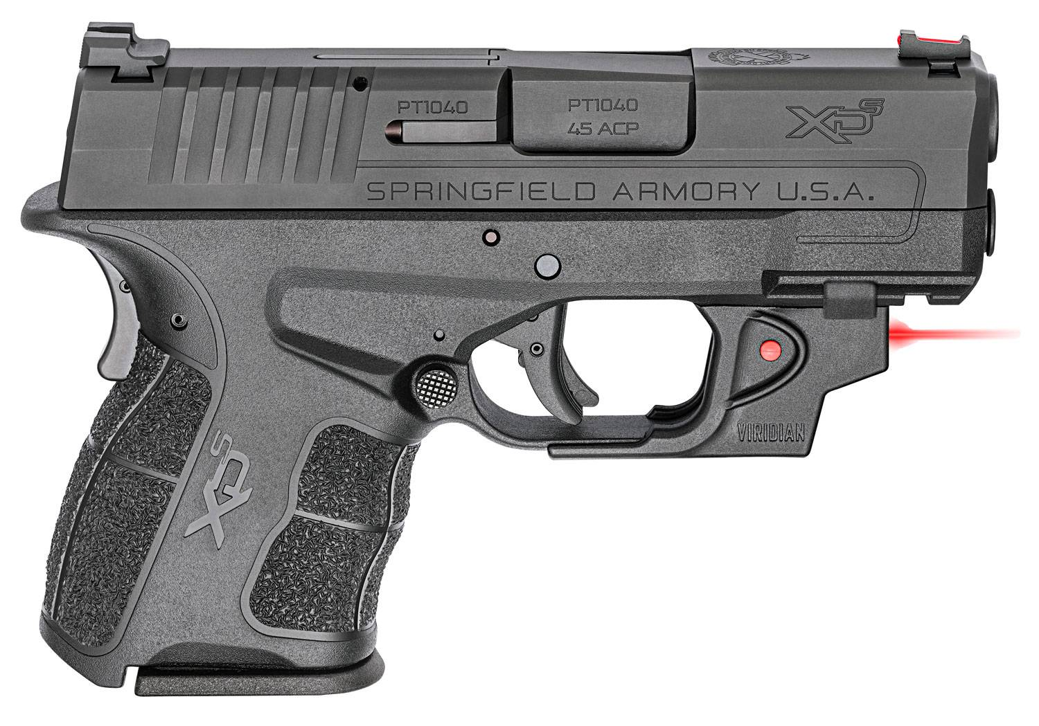 Springfield Armory XDE93345BVR XD-E Single/Double 45 Automatic Colt Pistol (ACP) 3.3