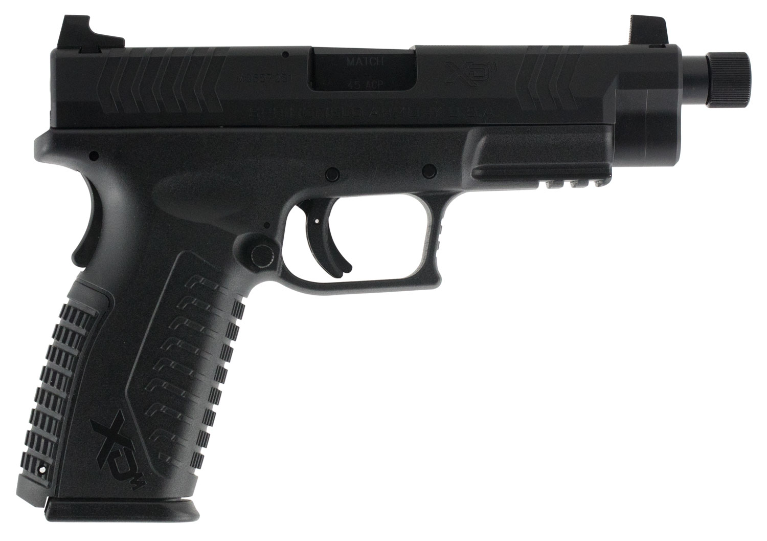 Springfield Armory XDMT94545BHC XD(M) Full Size Threaded Double 45 Automatic Colt Pistol (ACP) 4.5