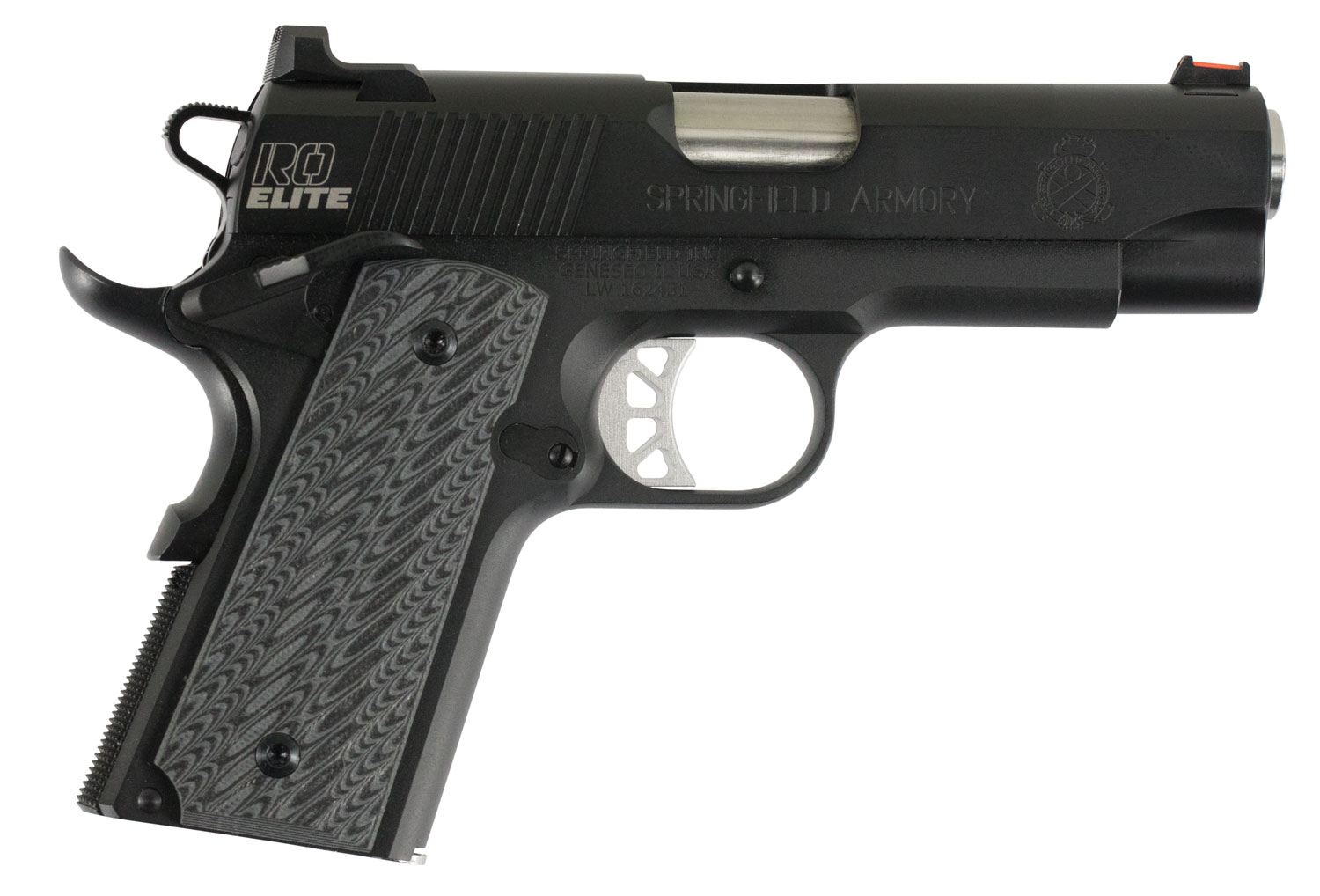 Springfield Armory PI9125E 1911 Range Officer Elite Compact Single 9mm Luger 4