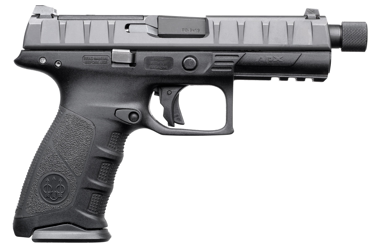 Beretta USA JAXF920701 APX Combat Single/Double 9mm Luger 4.9