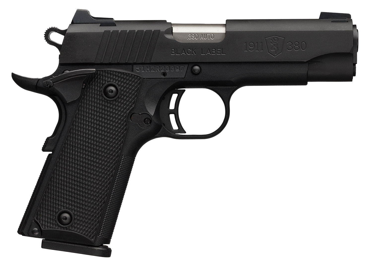 Browning 051941492 1911-380 Black Label Special Compact Single 380 Automatic Colt Pistol (ACP) 3.625