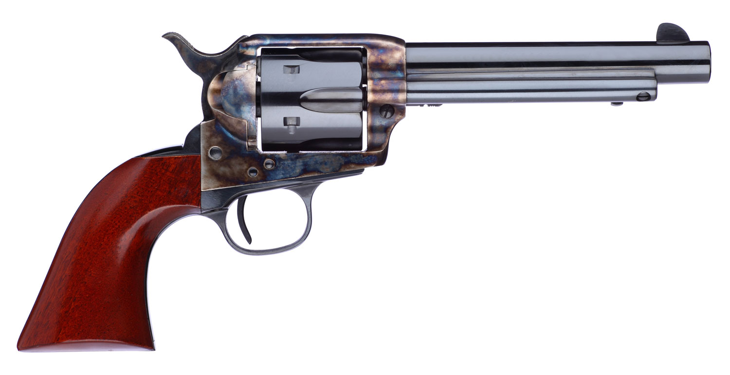 Taylors and Company 701EDE 1873 Cattleman New Frame Model Taylor Tuned Single 357 Magnum 5.5