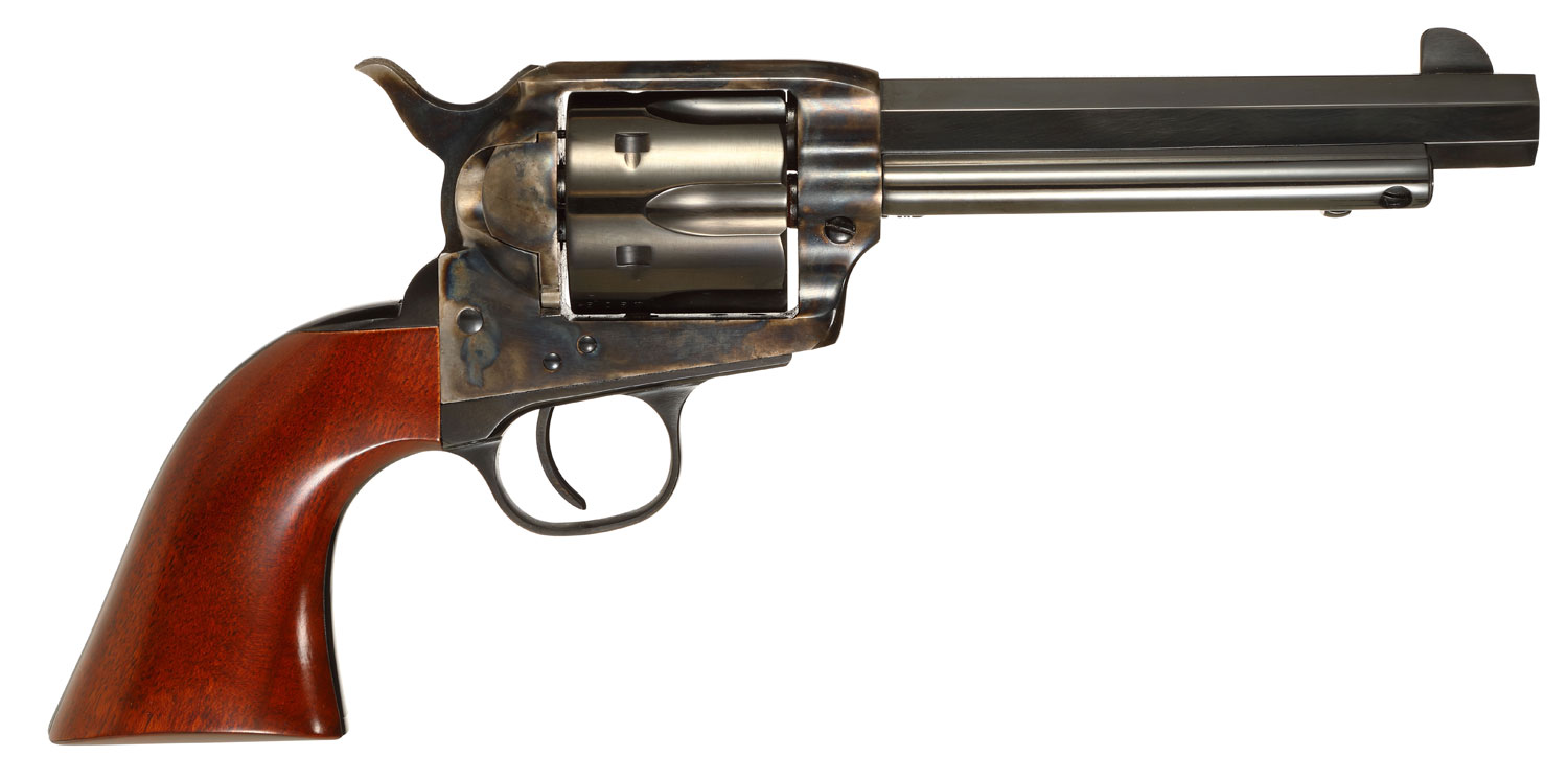 Taylors and Company 556105 1873 Cattleman Drifter Single 357 Magnum 5.5