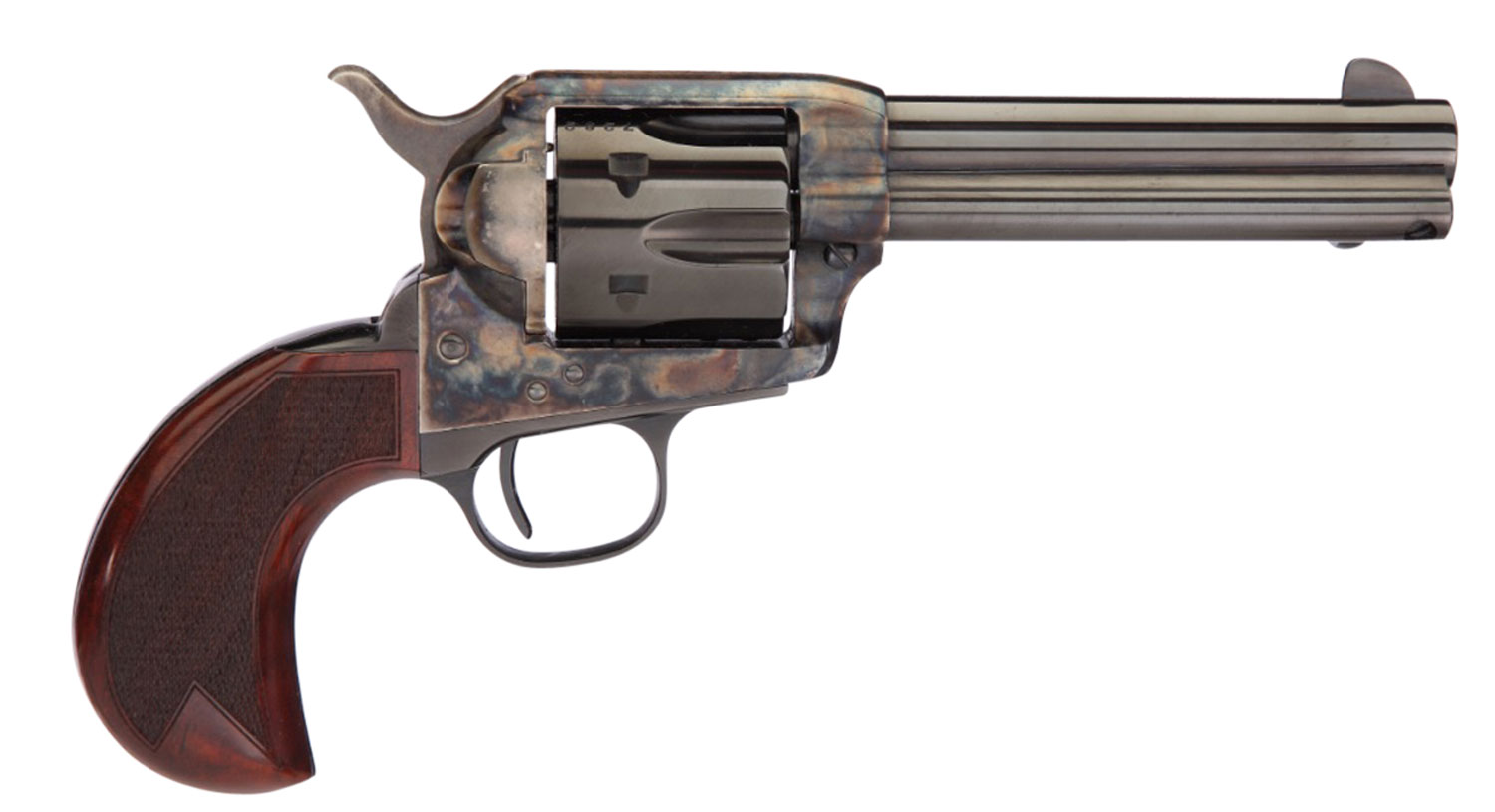 Taylors and Company 555153 1873 Cattleman Birdshead Single 357 Magnum 4.75
