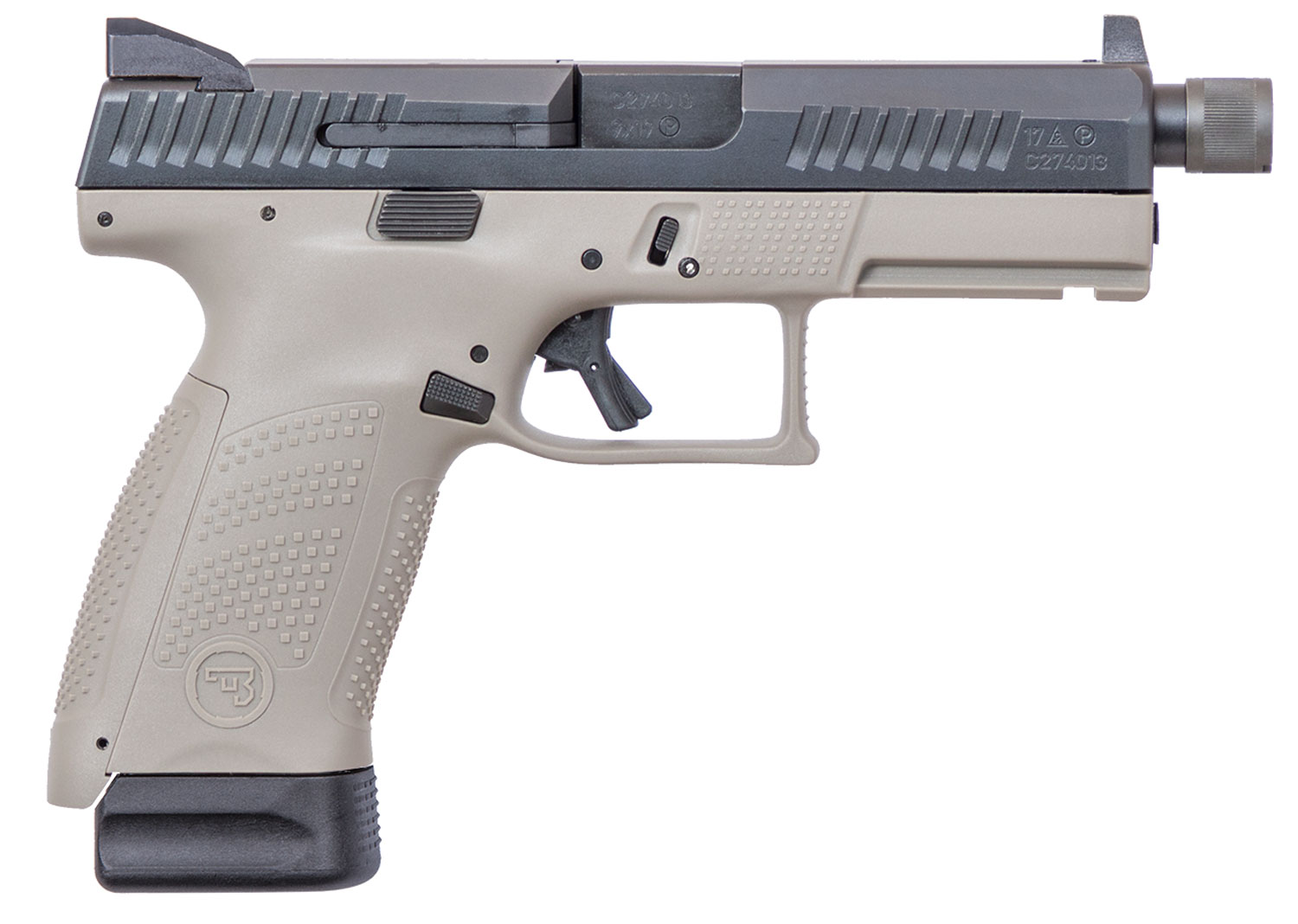 CZ 01519 P10 COMPACT 9MM 10RD SR URBAN GREY NS